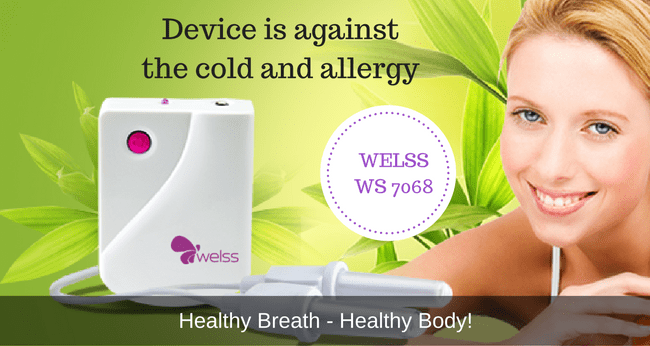 Device is against  the cold and allergy